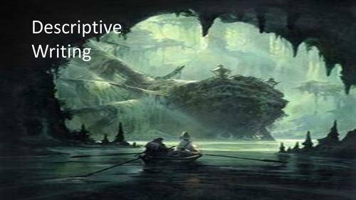 Shipwreck- Descriptive Writing