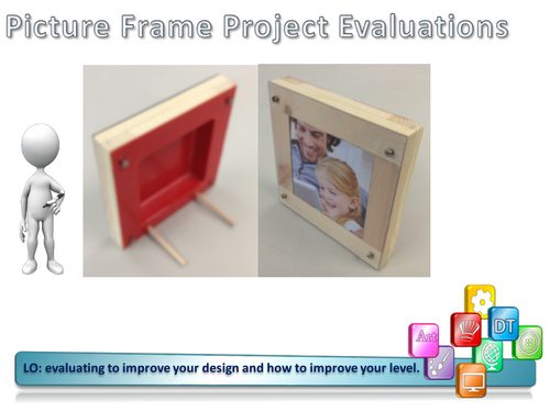 Y8 Picture Frame SOW