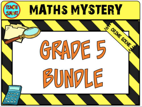 Maths Mystery Grade 5 Bundle