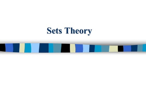 Sets theory and Venn diagrams
