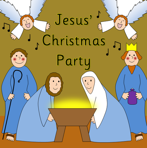 Jesus' Christmas Party story resource pack- nativity