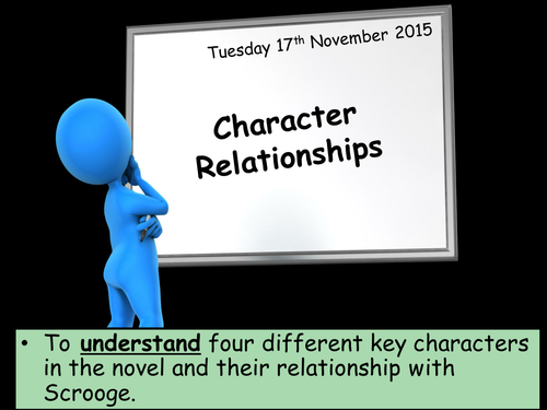 New and Improved: A Christmas Carol - Relationships and Characters