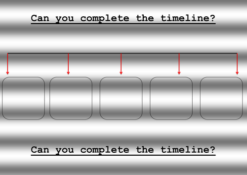 Differentiated Timeline Template (blank)