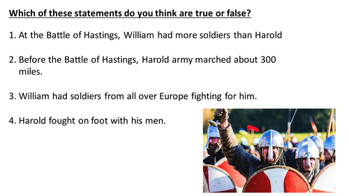 Battle of Hastings: Assesment
