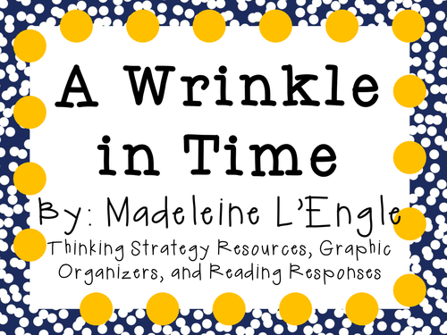 A Wrinkle in Time Complete Literature and Grammar Unit by – A Wrinkle in Time Worksheets
