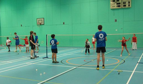 KS3+KS4 BADMINTON LESSON PLANS