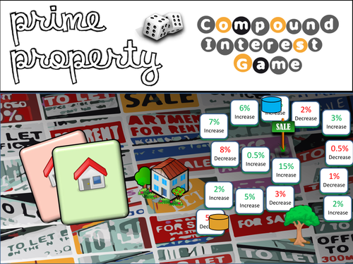 Compound Interest Board Game