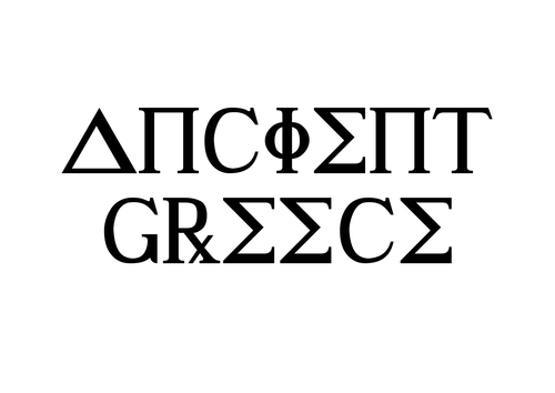 Ancient Greece Title Pages for Display