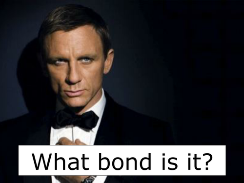 New GCSE - name the bond