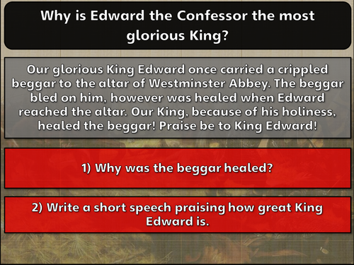 Why did William of Normandy become King of England 1: William's claim