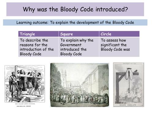 Bloody code