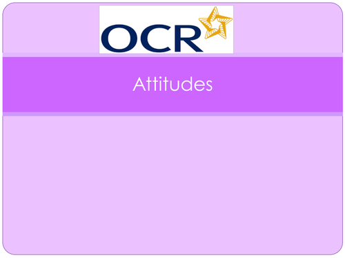 New OCR AS Level PE Psychology PowerPoints