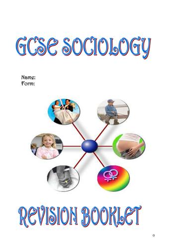 GCSE Sociology Revision Booklet