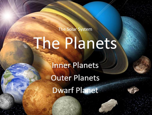 Physics - The Solar System