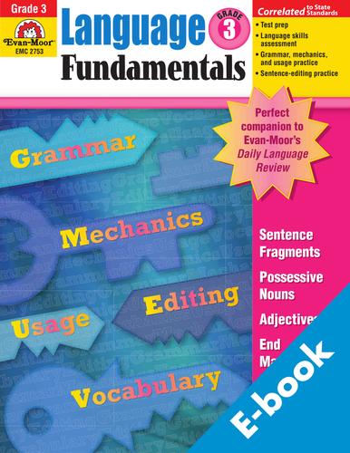 Language Fundamentals Grade 3 Workbook