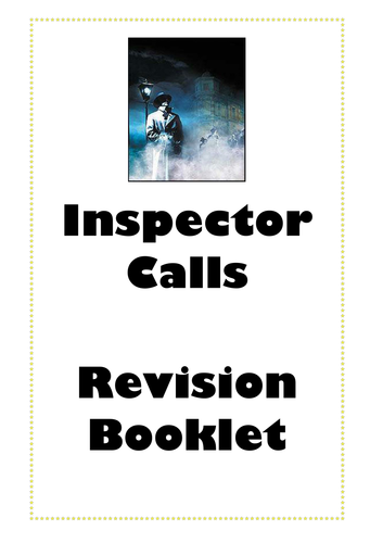 An Inspector Calls Revision Booklet