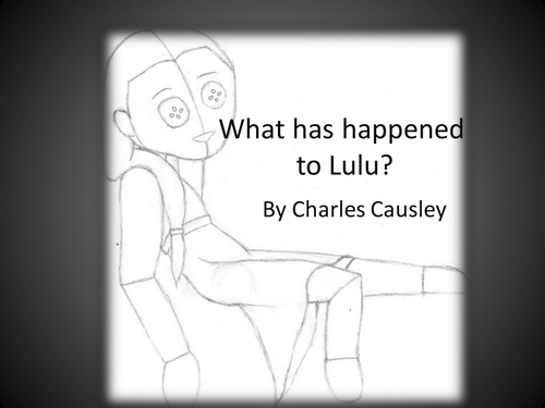 "Poetry analysis of ""What has happened to Lulu?"""