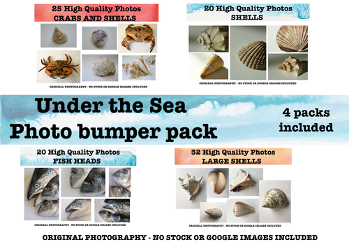 Under the Sea -  Photo resource bumper pack