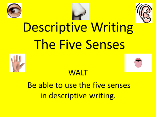 lesson plan on teaching a descriptive Create writers by teaching descriptive writing using modeling examine and copy the great authors descriptive writing styles - as a way to teach and develop your own.