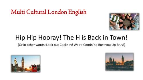 Multi Cultural London English MLE