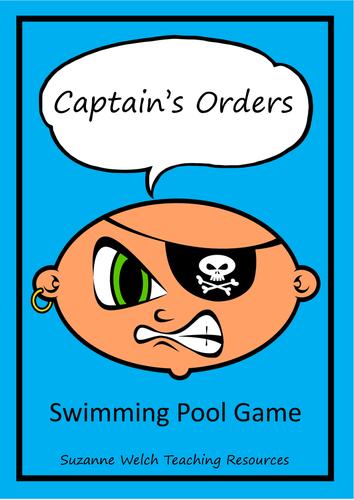 Swimming Pool Game - Captain's Orders
