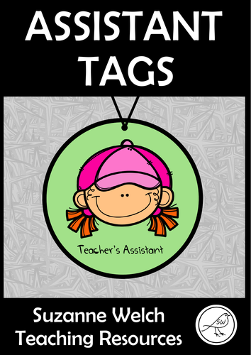 Classroom Assistant Tags