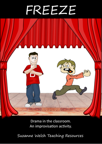 Drama Improvisation Activity - 'Freeze'.
