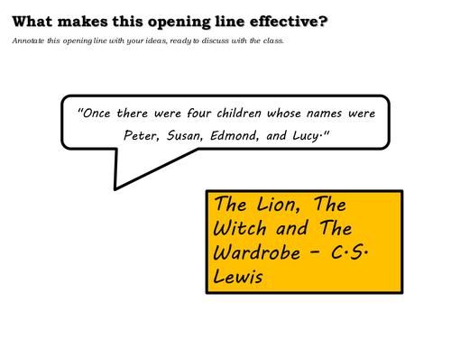 Creative Writing Lesson Plans Ks3 , Introduction