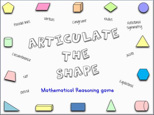 Geometry Vocab Game