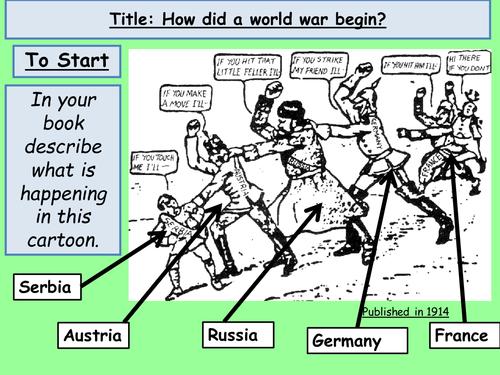 World War One SOW