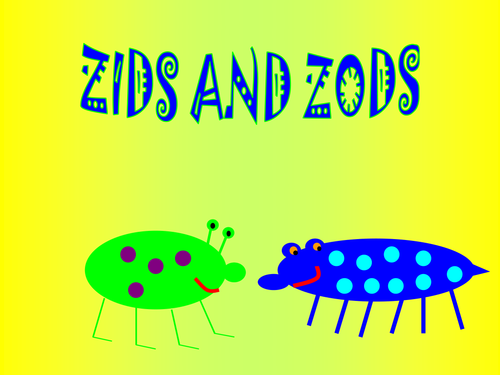 Zids and Zods Problem Solving