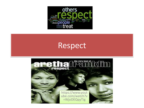 Y7 Assembly on Respect