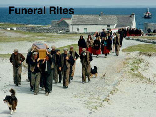OCR GCE H074 Literature Poetry - 'Funeral Rites' by Seamus Heaney.