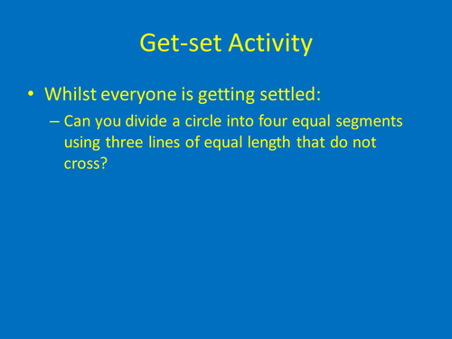 GCSE Physics - Critical Angle and Total Internal Reflection lesson plan and presentation