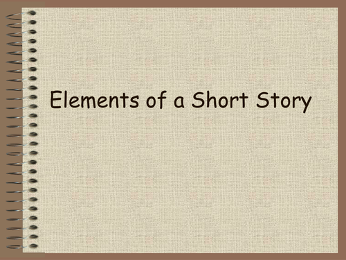 Writing a Short Story English Lesson PowerPoint Presentation