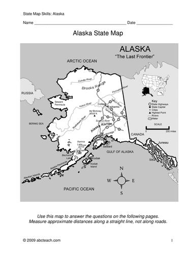 Alaska - Map Skills