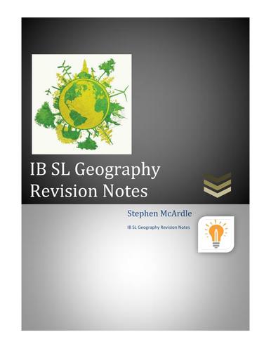 IB Geography SL Notes