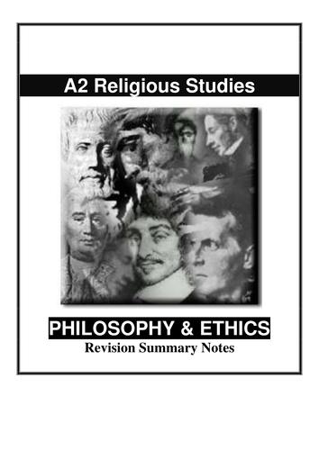 Religious Studies Revision Notes
