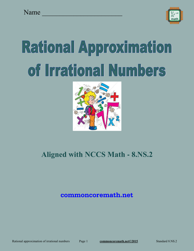 Rational Approximation of Irrational Numbers - 8.NS.2