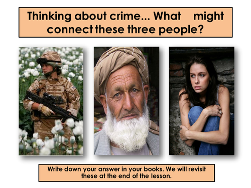 Crime -  The Heroin Trail Afghanistan