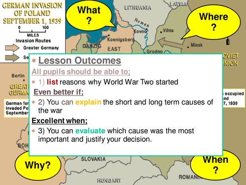 WW2 causes