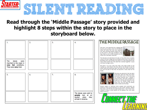 Slavery Middle Passage lesson 2