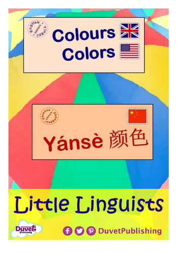 English > Chinese: Numbers & Colours Vocabulary Books