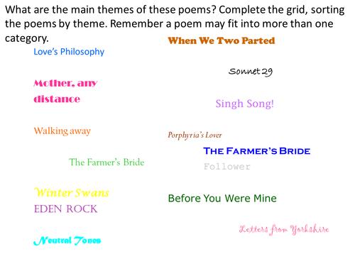 Theme Poems 7