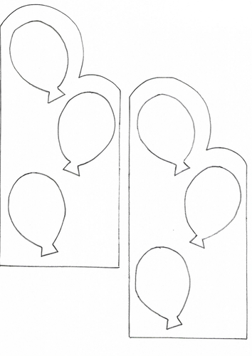 Ballon card for any occasion