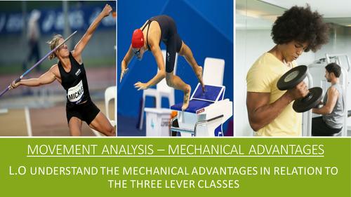 GCSE PE AQA (9-1) Movement Analysis - Mechanical Advantages