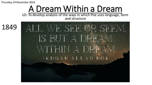 a dream within a dream analysis