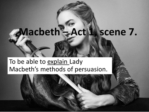 Macbeth Act 1 Scene 7 (Low Ability)