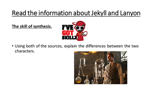 Jekyll and Hyde new specification Chapter 9 Dr Lanyon's narrative