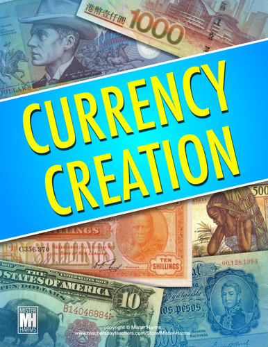 ECONOMICS: Create a Currency and Money Activity